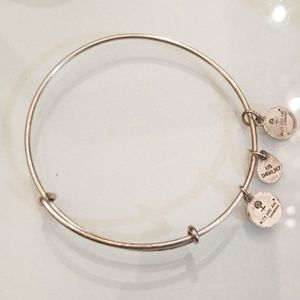 Alex and Ani Silver Layering Bangle